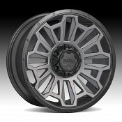 Ultra X110 Satin Graphite Custom Wheels Rims