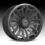 Ultra X110 Satin Black Custom Wheels Rims