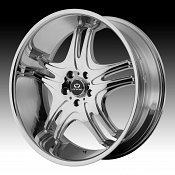 Lorenzo WL031 WL31 Chrome Custom Rims Wheels
