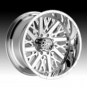 Worx Alloy 816C Overtime Chrome Custom Wheels Rims