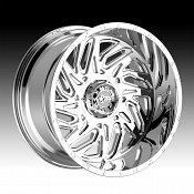 Worx Alloy 817C Carnage Chrome Custom Wheels Rims