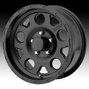 KMC XD Series XD122 Enduro Matte Black Custom Wheels Rims