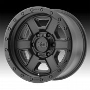 KMC XD Series XD133 Fusion Off-Road Satin Black Custom Wheels Ri