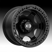 KMC XD Series XD232 Beadlock Satin Black Custom Wheels Rims