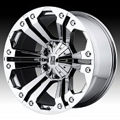 KMC XD Series XD778 Monster Chrome Custom Wheels Rims
