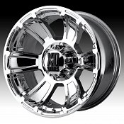 KMC XD Series XD796 Revolver Chrome Custom Wheels Rims