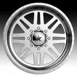American Force Liberty SS Polished Custom Wheels Rims 2
