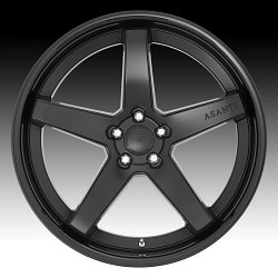 Asanti Black Label ABL31 Regal Black Custom Wheels Rims 3