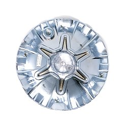 CAP-906CF / Cruiser Alloy 906C Raptor FWD Chrome Bolt On Center Cap 2