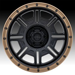 Center Line 850BZ Atlas Satin Black Custom Wheels Rims 2