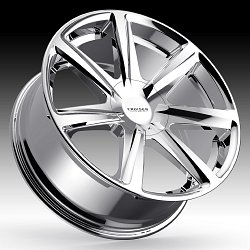 Cruiser Alloy 922C Kinetic Chrome Custom Wheels Rims 2