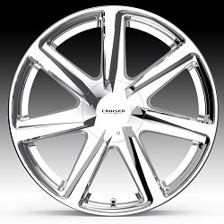 Cruiser Alloy 922C Kinetic Chrome Custom Wheels Rims 3