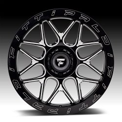 Fittipaldi Offroad Forged FTF02 Gloss Black Milled Custom Wheels Rims 2