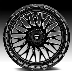 Fittipaldi Offroad Forged FTF07 Gloss Black Milled Custom Wheels Rims 2