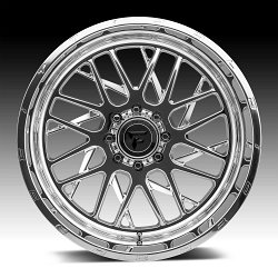 Fittipaldi Offroad Forged FTF12 Polished Custom Wheels Rims 2