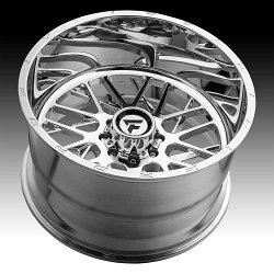 Fittipaldi Offroad Forged FTF12 Polished Custom Wheels Rims 3