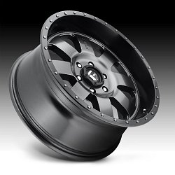 Fuel Baja D628 Anthracite Black Custom Wheels Rims 2