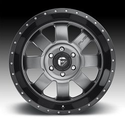 Fuel Baja D628 Anthracite Black Custom Wheels Rims 3