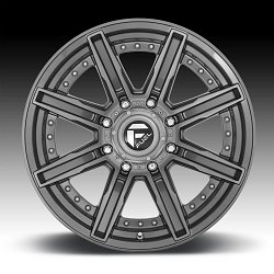 Fuel Rogue D710 Platinum Custom Wheels Rims 3