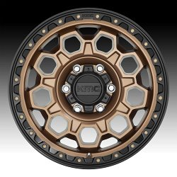KMC KM545 Trek Matte Bronze Custom Wheels Rims 3