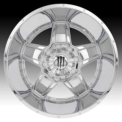Monster Energy Edition 543C Chrome Custom Wheels Rims 3