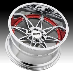 Moto Metal MO993 Hydra Chrome Custom Wheels Rims 3