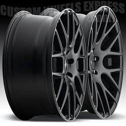 Niche M110 Circuit Matte Black Custom Wheels Rims 2