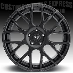 Niche M110 Circuit Matte Black Custom Wheels Rims 3