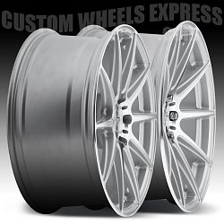 Niche M146 Essen Machined Silver Custom Wheels Rims 2