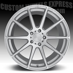 Niche M146 Essen Machined Silver Custom Wheels Rims 3