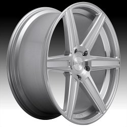 Niche Carina SUV M235 Brushed Silver Custom Wheels Rims 2