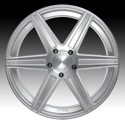 Niche Carina SUV M235 Brushed Silver Custom Wheels Rims 3
