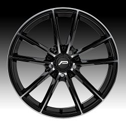 Pacer 792MB Infinity Machined Black Custom Wheels Rims 2