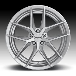 Rotiform FLG R133 Gloss Silver Custom Wheels Rims 3