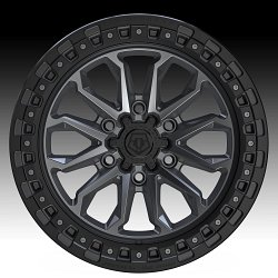 TIS Wheels 556AB (6-Lug) Satin Anthracite Custom Truck Wheels 2