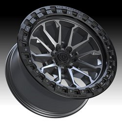 TIS Wheels 556AB (6-Lug) Satin Anthracite Custom Truck Wheels 3