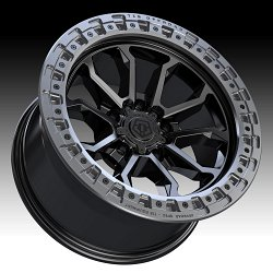 TIS Wheels 556BA (5-Lug) Satin Black Custom Truck Wheels 3