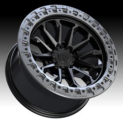 TIS Wheels 556BA (6-Lug) Satin Black Custom Truck Wheels 3