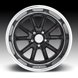 US Mags Rambler U121 Black Machined Custom Wheels Rims 3
