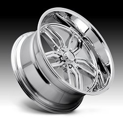 US Mags C-TEN U127 Chrome Custom Wheels Rims 2