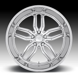 US Mags C-TEN U127 Chrome Custom Wheels Rims 3