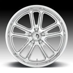 US Mags Bullet U131 Chrome Custom Wheels Rims 3