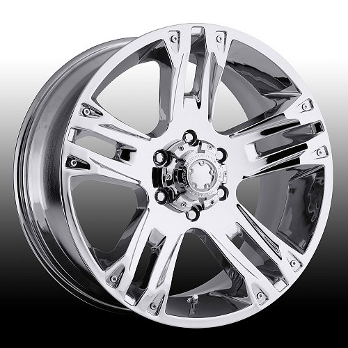 Ultra 234C 234 / 235C 235 Maverick Chrome Custom Rims Wheels 1