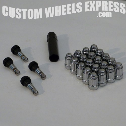 CWE-5LK-14150-S / Chrome Spline 5-Lug Kit 1