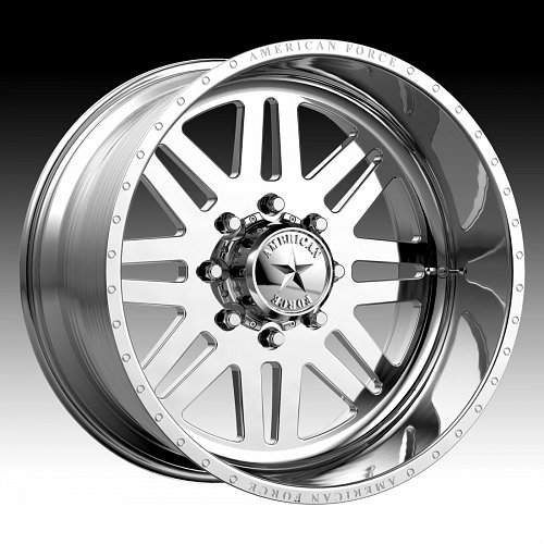 American Force Liberty SS Polished Custom Wheels Rims 1