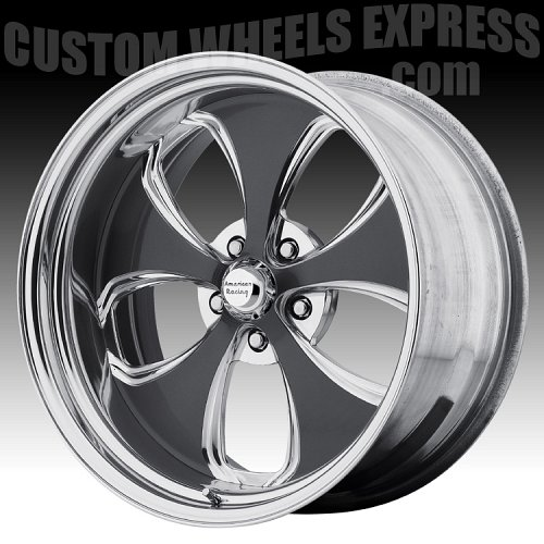American Racing VF491 Polished Forged Vintage Custom Wheels 2