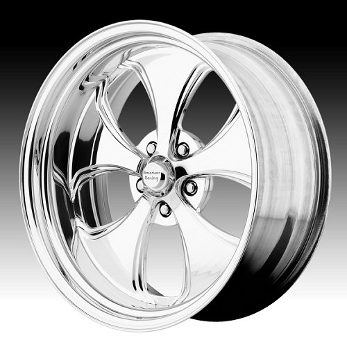 American Racing VF491 Polished Forged Vintage Custom Wheels 1