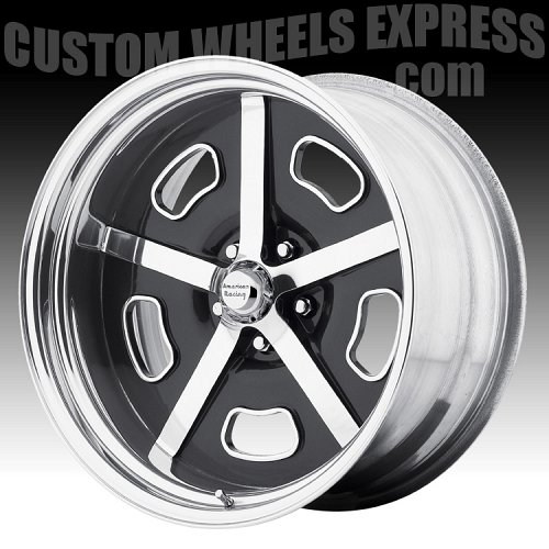 American Racing VF493 Polished Forged Vintage Custom Wheels 2