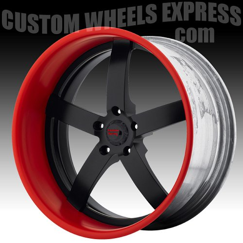 American Racing VF495 Polished Forged Vintage Custom Wheels 2