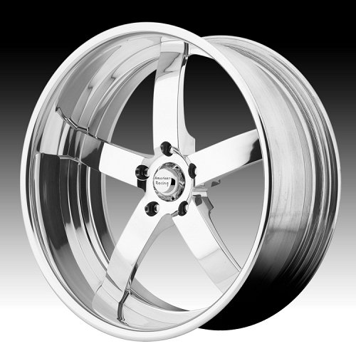 American Racing VF495 Polished Forged Vintage Custom Wheels 1